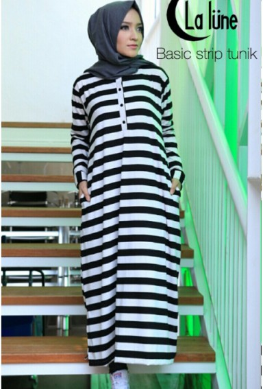 BASIC STRIPE TUNIK