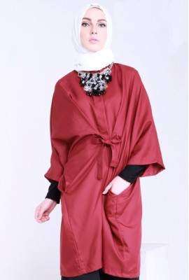 DIANNE TOP RED MAROON