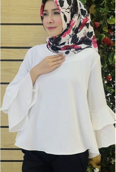 CLARISHA WHITE BLOUSE