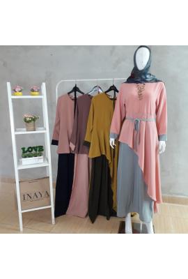 SALMA ASYMETRY DRESS