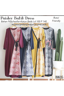 PAISLEY BATIK DRESS