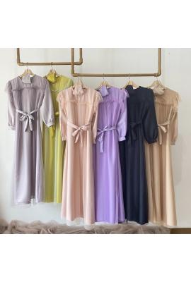 MAIZURA TILLE DRESS